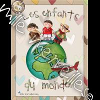 Affiches enfants du monde