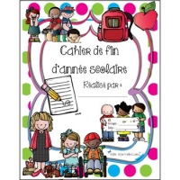 Cahier fin d'année primaire