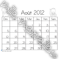 Calendrier dinosaures