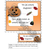 Les bonbons d'Halloween