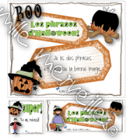 Lecture de phrases Halloween