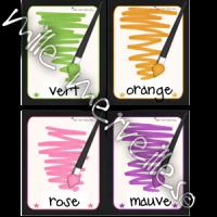 Pinceaux de couleur