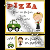 Pizzas et fractions