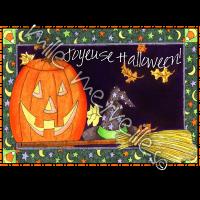 Affiche et cartes Halloween