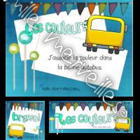 Autobus des couleurs