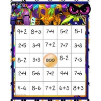 Bingo additions et soustractions 1-20