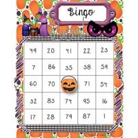 Bingo des nombres de 1 à 100