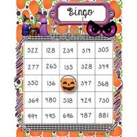 Bingo nombres 100 à 1000