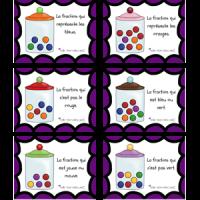 Bonbons fractions