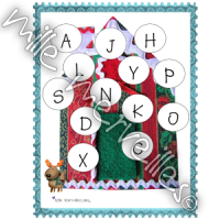 Cahier lettres Noël