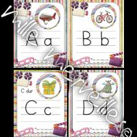 Cartes caméra alphabet