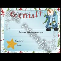 Certificats de Noël