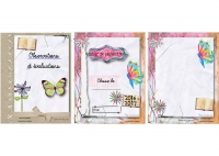 Couvertures papillon scrapbooking