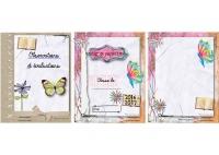 Couvertures papillon scrapbooking