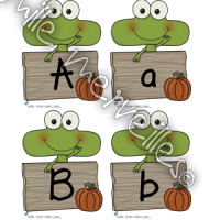 Halloween lettres