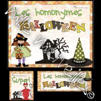 Homonymes Halloween