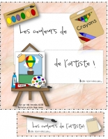 Les couleurs de l'artiste