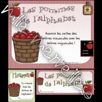Les pommes alphabet