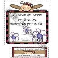 Mademoiselle petites ailes