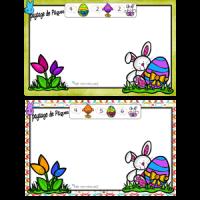 Paysage de Pâques