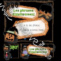 Lecture de phrases Halloween