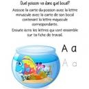 Poissons alphabet