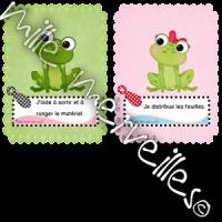 Responsabilités grenouilles