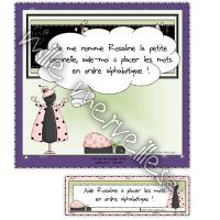 Rosaline et les mots