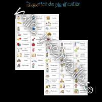 Étiquettes de planification